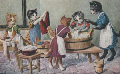 Pocztówka z kolekcji Szymborskiej