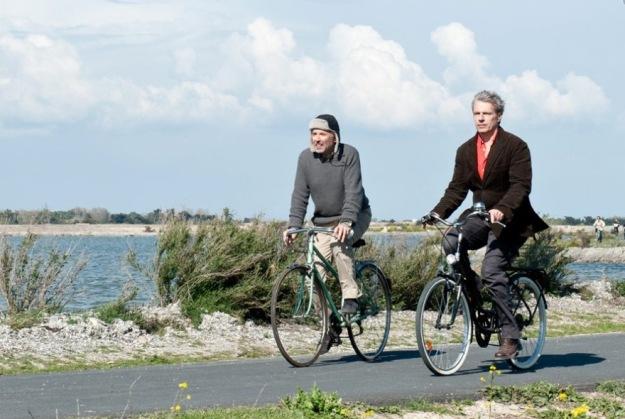 Molier na rowerze. Luchini i Wilson