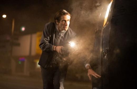 Wolny strzelec. Jake Gyllenhaal jako Lou Bloom