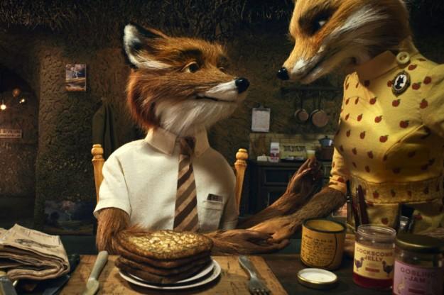 Mr Fox. Śniadanie u Lisów