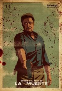 Sicario. Benicio Del Toro